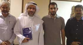 منہاج پیس اینڈ انٹی گریشن کویت کے وفد کی پروفیسر عبداللہ شافی سے ملاقات