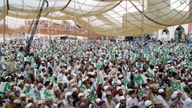 شہر اعتکاف میں ہزاروں معتکفین کی یوم آزادی کی دعائیہ تقریب میں شرکت