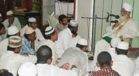 منہاج القرآن انٹرنیشنل(حیدر آباد، انڈیا) میں کامیاب مسنون اعتکاف2012ء