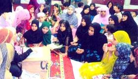 منہاج القرآن ویمن لیگ (حیدر آباد، انڈیا) کی رمضان المبارک میں سرگرمیاں
