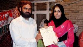 سمن آباد ٹاؤن میں عرفان القرآن کورس کی تقریب تقسیم اسناد
