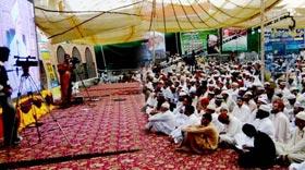 شہر اعتکاف سے واپسی پر منہاج القرآن اسلامک سنٹر (مانکیالہ مسلم) میں وفد کا پُرجوش استقبال