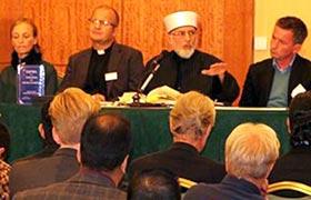 منہاج القرآن انٹرنیشنل ڈنمارک کے زیراہتمام دہشت گردی کے خلاف فتویٰ کی تقریب رونمائی