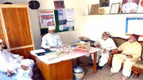 امیرِ پنجاب احمد نواز انجم کا منہاج القرآن اسلامک سنٹر مانکیالہ مسلم گوجرخان کا دورہ
