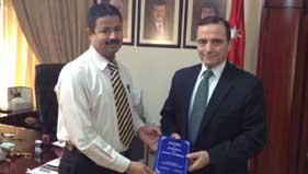 MPIC کویت کے وفد کی اردن کے سفیر سے ملاقات