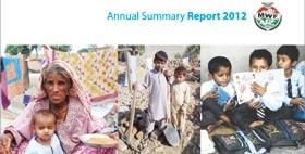 Annual Summary Report 2012 - Minhaj Welfare Foundation