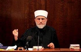 Dr Tahir-ul-Qadri Calls on West to Curb Blasphemies