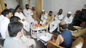 تحریک منہاج القرآن پیر محل کا تنظیمی اجلاس