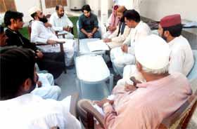 تحریک منہاج القرآن (رجانہ) کا تنظیمی اجلاس
