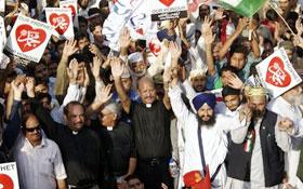 عظمت مصطفیٰ (ص) ریلی (لاہور) میں دیگر مذاہب کے راہنماؤں کی شرکت