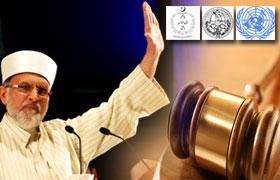 عالمی عدالت انصاف میں توہین آمیز فلم کے خلاف ڈیڑھ ارب مسلمانوں کے وکیل کے طور پر مقدمہ لڑنے کے لیے تیار ہوں : ڈاکٹر محمد طاہرالقادری