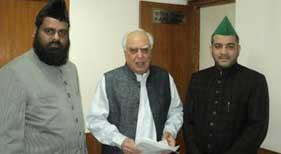 منہاج القرآن انٹرنیشنل (حیدر آباد، انڈیا) کے وفد کی گستاخانہ فلم کے خلاف آئی ٹی کے وزیر سے ملاقات