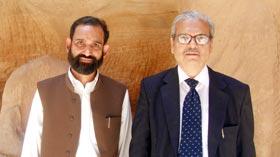 Dr Tahir H Tanoli felicitated on PhD