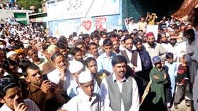 عظمت مصطفیٰ (ص) ریلی : عباس پور آزاد کشمیر