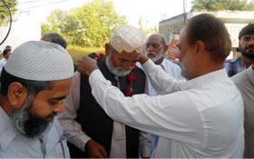 پاکستان عوامی تحریک چکوال کے ضلعی سیکرٹریٹ کا افتتاح