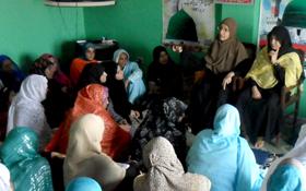 منہاج القرآن ویمن لیگ میر پور کے زیراہتمام بیدارئ شعور میٹنگ