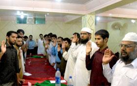 میرپور آزاد کشمیر :یونٹس کی تنظیم سازی