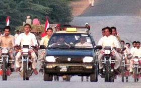 پنڈدادنخان : عظمت مصطفیٰ (ص) موٹر سائیکل ریلی