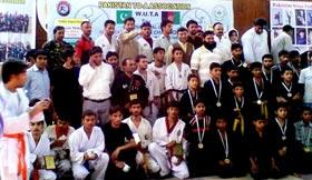 منہاج یونیورسٹی لاہور کے طلبہ کا انٹرنیشنل مارشل آرٹس چیمپین شپ میں اعزاز