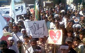 وادی رڑکن، بلوچستان : عظمت مصطفیٰ (ص) ریلی