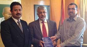 MPIC کویت کے وفد کی انڈین سفیر ستیش مہتا سے ملاقات