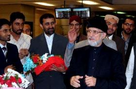 Shaykh-ul-Islam arrives in Cairo for Egypt Tour 2012