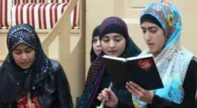 منہاج القرآن ویمن لیگ و منہاج سسٹر لیگ (فرانس) کے زیر اہتمام ماہانہ گیارہویں شریف کا پروگرام