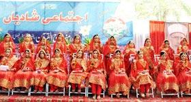 فیصل آباد : منہاج ویلفیئر فاؤنڈیشن کے زیراہتمام اجتماعی شادیاں