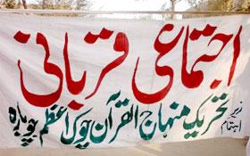 چوبارہ (لیہ) : اجتماعی قربانی 2012ء