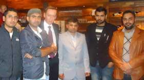منہاج القرآن انٹرنیشنل بولزانو کی پاتیتو ڈیمو کریٹیکو کے ساتھ میٹنگ