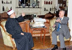 Shaykh-ul-Islam meets former Deputy Prime Minister of Egypt