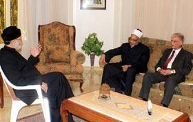 WAAG representatives call on Shaykh-ul-Islam