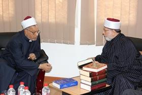 Shaykh-ul-Islam visits WAAG Office