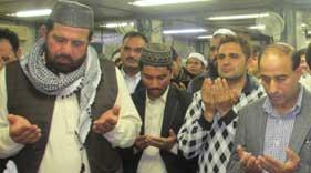 امانت علی گوندل شہید کی نماز جنازہ اور میت کی پاکستان روانگی