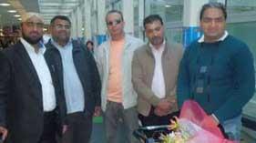علامہ حافظ محمد آفتاب خان قادری (ناگویا، جاپان) پہنچ گئے