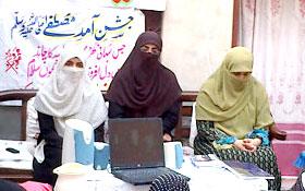منہاج القرآن ویمن لیگ کے دورہ جات برائے عوامی استقبال