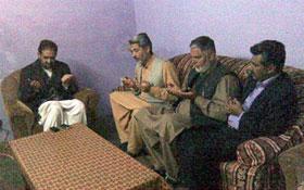 کھڑی شریف، آزاد کشمیر: ناظم اعلیٰ منہاج القرآن انٹرنیشنل کا دورہ