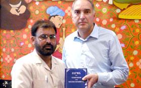لاہور : کمیونٹی آف سینٹ اگیدیو پیس اینڈ سوشل جسٹس سیکنڈ ویٹی کن سٹی اٹلی کے ڈپٹی ڈائریکٹر سے سہیل احمد رضا کی ملاقات