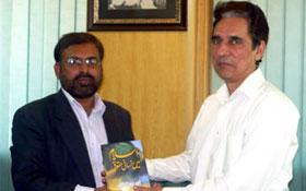 لاہور : صوبائی سیکرٹری وزارت حقوق انسانی و اقلیتی امور حکومت پنجاب سے سہیل احمد رضا کی ملاقات