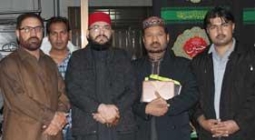 جاپان: علامہ محمد شکیل ثانی کا امام بارگاہ محمد وآل محمد میں تاریخی خطاب