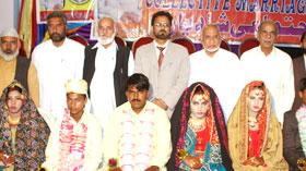 نارووال : منہاج ویلفیئر فاؤنڈیشن کے زیراہتمام اجتماعی شادیاں