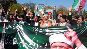 تحریک منہاج القرآن اسلام آباد کے بزرگ رہنما غلام حیدربٹ 23دسمبرکے پروگرام میں شرکت کے لئے پیدل روانہ ہوگئے