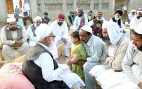 چکوال : پیر سید باقر علی شاہ کی طرف سے شیخ الاسلام کا خیرمقدم