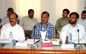 لاہور : سہیل احمد رضا کی متروکہ وقف املاک بورڈ کے اجلاس میں شرکت