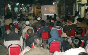 لاہور : منہاج القرآن یوتھ لیگ گلبرگ بی کے زیراہتمام نظام بدلو کارنر میٹنگز