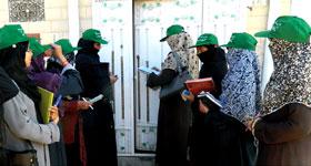 منہاج القرآن ویمن لیگ چکوال کی گھر گھر دعوتی مہم