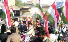 سرگودھا میں نائب امیر تحریک علامہ محمد صادق قریشی کا پرتپاک استقبال