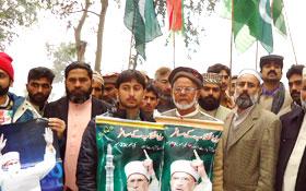 Baba Ghulam Haidar Butt has arrived in Wazirabad
