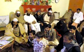 ناڑی ضلع خوشاب : سیاست نہیں ریاست بچاؤ کارنر میٹنگ