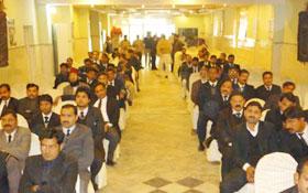پاکستان عوامی لائرز موومنٹ گوجرانوالہ کے زیراہتمام ریاست بچاؤ وکلاء سیمینار